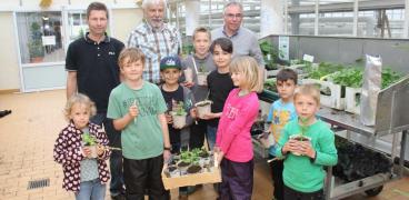 Kleines Gärtner-ABC für Kinder
